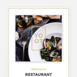 welcoem restaurant